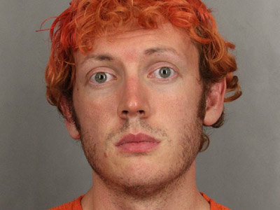 This file handout booking photo released by the Arapahoe County Sheriff's Office on July 23, 2012 shows alleged Aurora movie theater shooter James Holmes. (AFP Photo/Arapahoe County Sheriff's Office/HO)