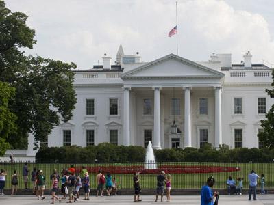 The White House in Washington (AFP Photo/Saul Loeb)