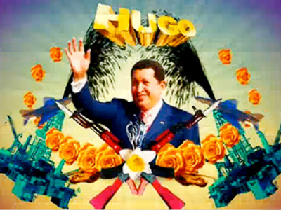 Hugo Chavez gives America a piece of his mind