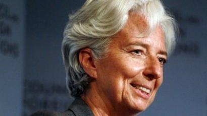 United States, New York: Christine Lagarde, Managing Director of the International Monetary Fund. (AFP Photo / Mario Tama)
