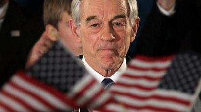 Republican presidential candidate, U.S. Rep. Ron Paul (AFP Photo / Justin Sullivan)