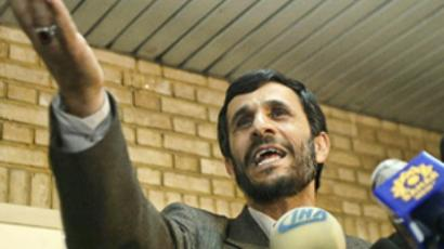 Iran, Tehran: Tehran's mayor Mahmood Ahmadinejad. (AFP Photo / Behrouz Mehri)
