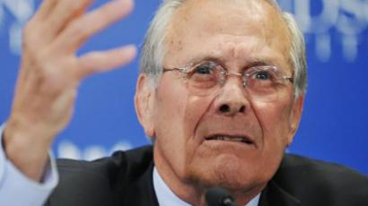 Donald Rumsfeld (AFP Photo / Mandel Ngan)