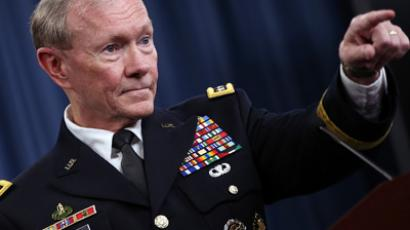 US Chairman of the Joint Chiefs of Staff General Martin Dempsey (AFP Photo / Karen Bleier)