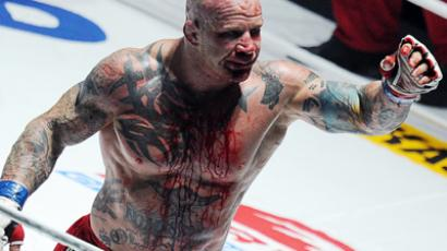 Jeff Monson supports Occupy movement