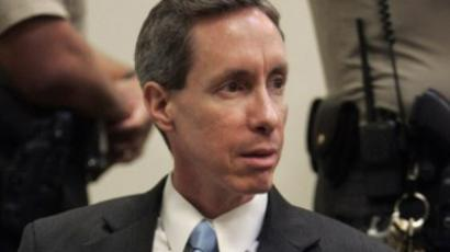 Warren Jeffs waits for the jury to reconvene for deliberation in his trial 24 September, 2007 in St. George, Utah (AFP Photo / Pool / Douglas C. Pizac)