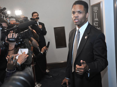 Jesse Jackson Jr. wins House race without leaving rehab