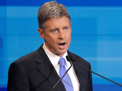 Gary Johnson files anti-trust lawsuit to appear at presidential debates
