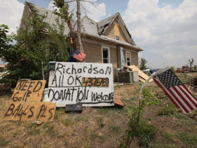 American hero denied aid for helping tornado victims