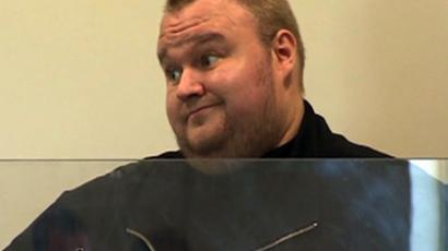 Megaupload founder Kim Dotcom (AFP Photo/Pool)