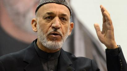 Hamid Karzai (AFP Photo / Shah Marai)