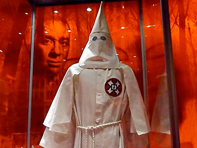 A Ku Klux Klan (KKK) robe (AFP Photo / Getty Images)