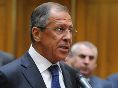 Sergey Lavrov speaks to students of the Moscow State Institute of International Relations in Moscow on September 1, 2010 (AFP Photo / Yuri Kadobnov)
