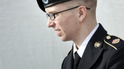US Army Private Bradley Manning (AFP Photo/Brendan Smialowski)