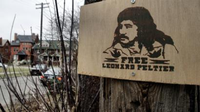 Leonard Peltier was awarded the first ever Mario Benedetti Foundation international human rights prize.
