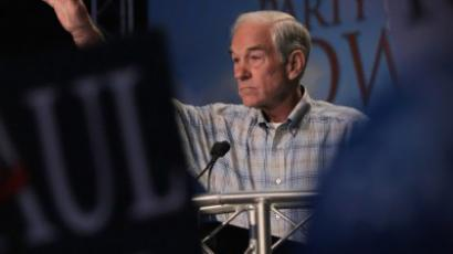 Ron Paul stands tall at GOP debate