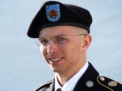 Bradley Manning (Alex Wong / Getty Images / AFP)