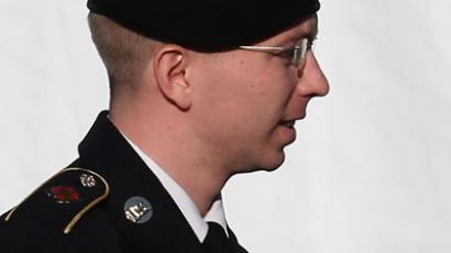 U.S. Army Pfc. Bradley E. Manning (Mark Wilson/Getty Images/AFP)