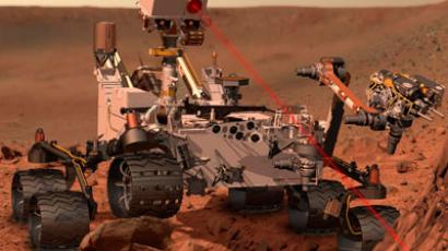 Rover Curiosity, of NASA's Mars Science Laboratory.(REUTERS / Handout)