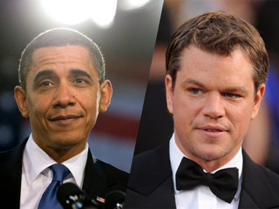 Matt Damon angry with Obama