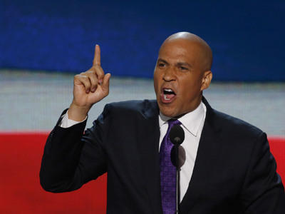 Newark, New Jersey Mayor Cory Booker. (Reuters / Jason Reed)