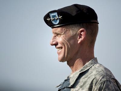 Army Gen. Stanley McChrystal (Brendan Smialowski / Getty Images / AFP)