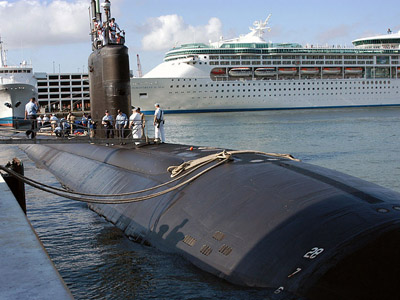 USS Miami sub fire estimated $ 440m