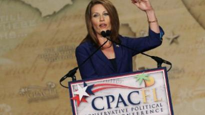 Republican presidential candidate US Rep. Michele Bachmann (R-MN) speaks at the Conservative Political Action Conference (CPAC) at the Orange County Convention Center, on September 23, 2011 in Orlando, Florida (Mark Wilson/Getty Images/AFP)