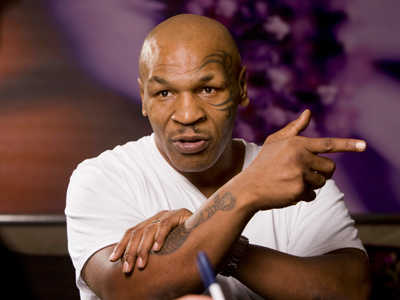 Former undisputed heavyweight boxing champion Mike Tyson (Reuters/Steve Marcus)