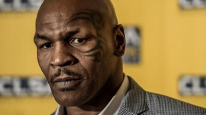 US boxer and former heavyweight world champion Mike Tyson. (AFP Photo / Philippe Lopez)