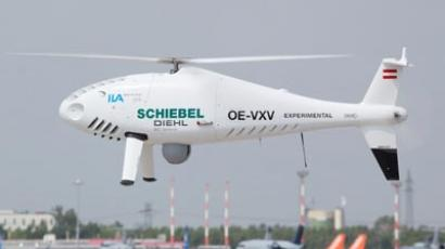 Schiebel's unmanned aerial vehicle Camcopter S-100 (AFP Photo)