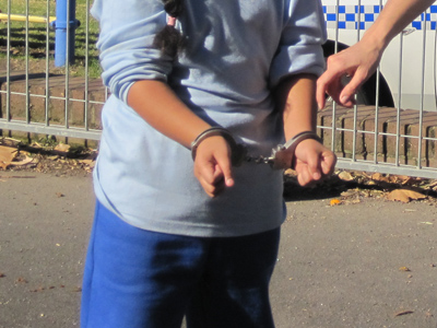 US federal court OK's handcuffing teens at school