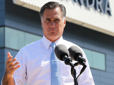 Mitt Romney (Justin Sullivan / Getty Images / AFP)