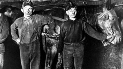 Coal miners have marched on Blair Mountain in 1921 and 2011.