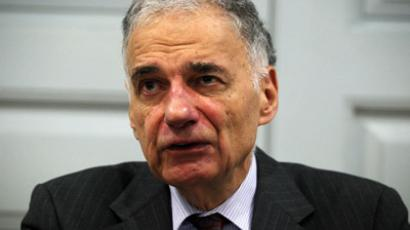Former presidential candidate Ralph Nader (Alex Wong/Getty Images/AFP)