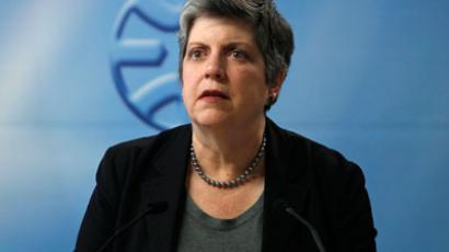 U.S. Homeland Security Secretary Janet Napolitano.(Reuters / Baz Ratner)