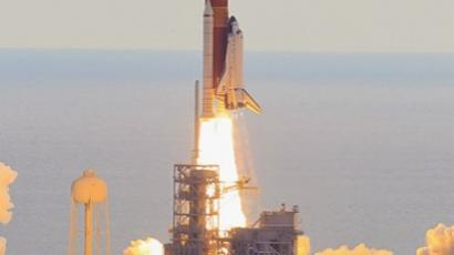 NASA space shuttle Endeavour lifts off from Launch Pad 39A at the Kennedy Space Center on May 16, 2011 in Cape Canaveral, Florida (AFP Photo / Getty Images)