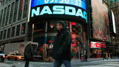 Nasdaq Market Site in New York's Times Square. (	REUTERS/Brendan McDermid)