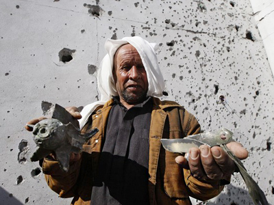 Another NATO strike kills group of children