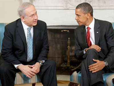 Barack Obama and Benjamin Netanyahu (AFP Photo / Saul Loeb)