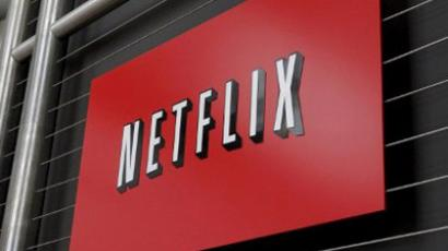 The Netflix company logo is seen at Netflix headquarters in Los Gatos, CA (AFP Photo / Ryan Anson)