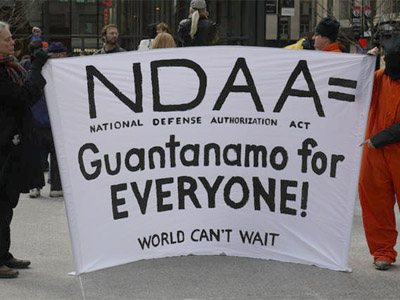 NDAA critic stranded in Hawaii after turning up on no-fly list