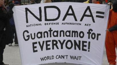 NDAA critic allowed home after being stranded on island