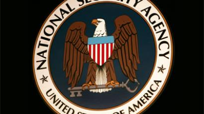 The logo of the National Security Agency.(AFP Photo / Paul J. Richards)