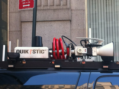 NYPD deployed mysterious surveillance truck at OWS anniversary