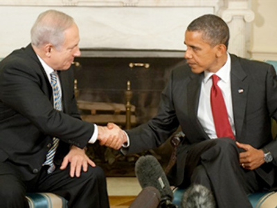 Obama and Netanyahu upbeat (again) on Middle East peace