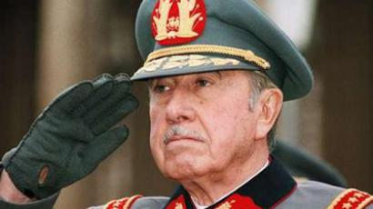 Chilean dictator Augusto Pinochet