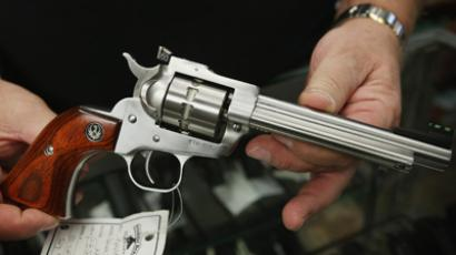 Ruger Single Ten .22 caliber revolver (AFP Photo /  Scott Olson)