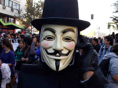 Occupy Comics: Guy Fawkes artist steals Comic-Con