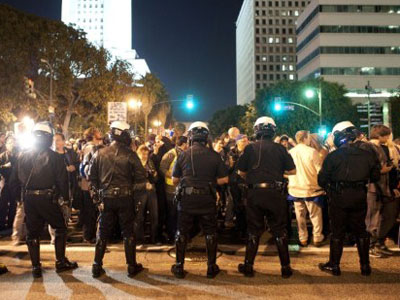 Undercover cops spy on Occupy LA
